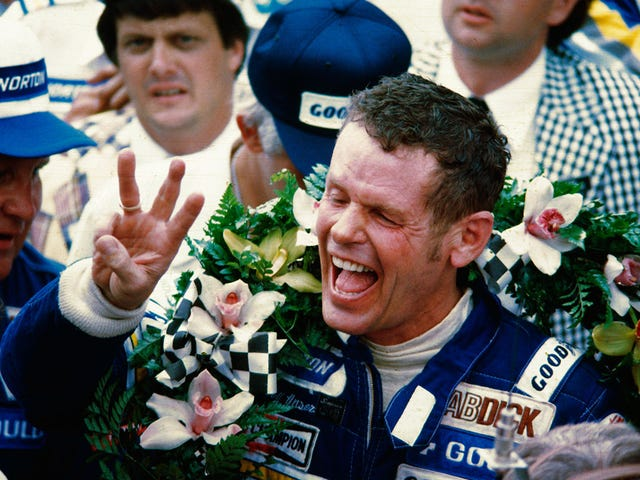 Bobby Unser Dinner with Racers
