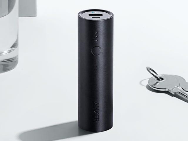 ¿Te quedas siempre corto con la batería de tu smartphone? Pon este cargador en tu bolsillo