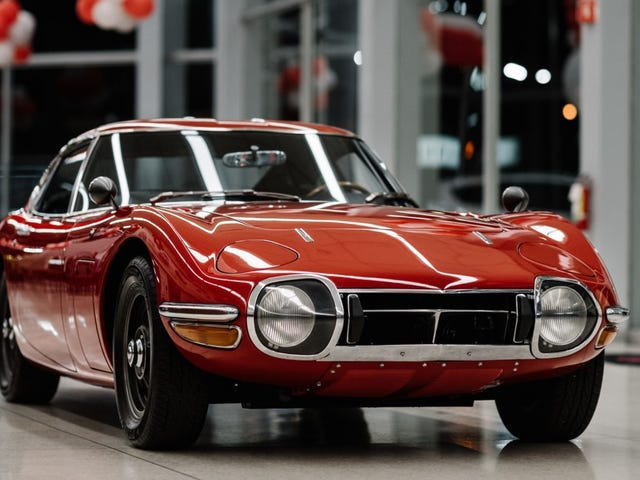 Hey, Let's Rob Some Banks To Buy This Perfect Left-Hand-Drive Toyota 2000GT