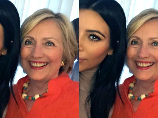 Hillary Clinton på Kim Kardashian's 'Horrible' Røveri: 'Jeg er bare glad, ingen var skadet'