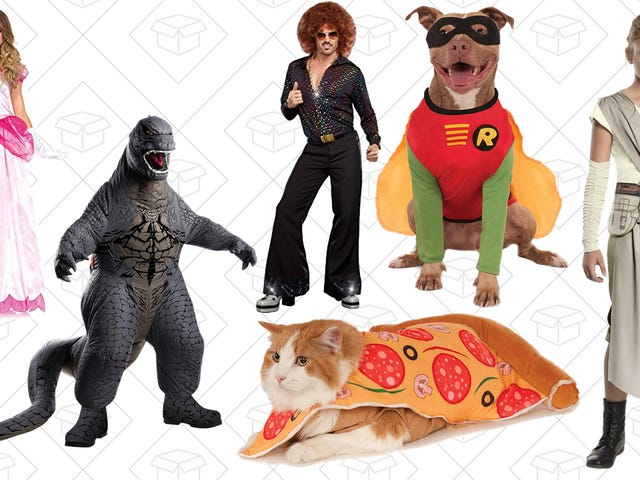Amazon Just Marked Down Hundreds of Halloween Costumes, Today Only
