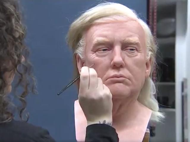 トランプの顔をワックスから成形したこの陽気なビデオ以外に何も変わらない