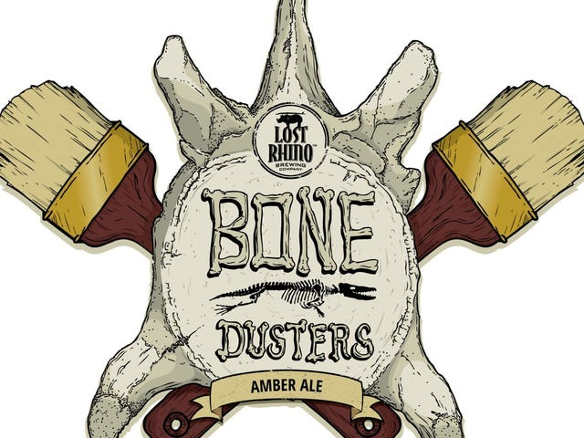 Bone Dusters Paleo Ale: the first-ever fossil-based beer