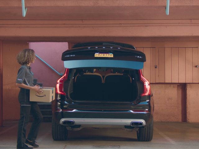 Amazon Wants to Shove Packages in Your Car's Trunk Now, Too