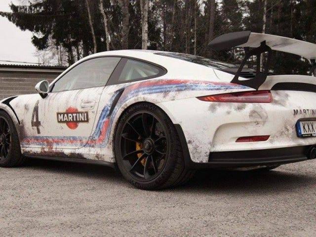 Porsche 911 kan inte förstöras, höger Bisimoto?