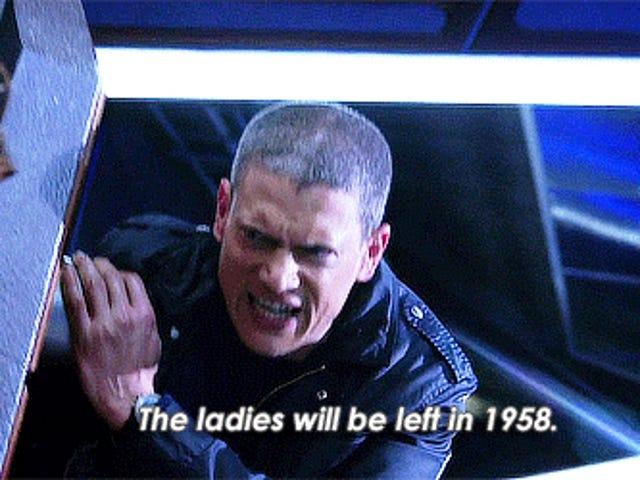 <i>Legends of Tomorrow</i> 1.09: Left Behind