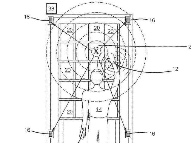 Bracelet brevets Amazon pour suivre les mouvements des mains des employés d'entrepôt