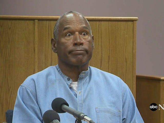 OJ Simpson đã được cấp phép tạm tha