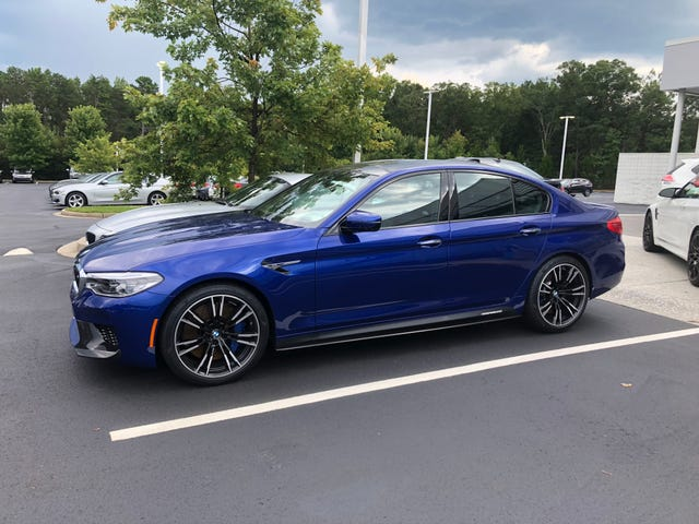 Stopped by BMW on the way home from work