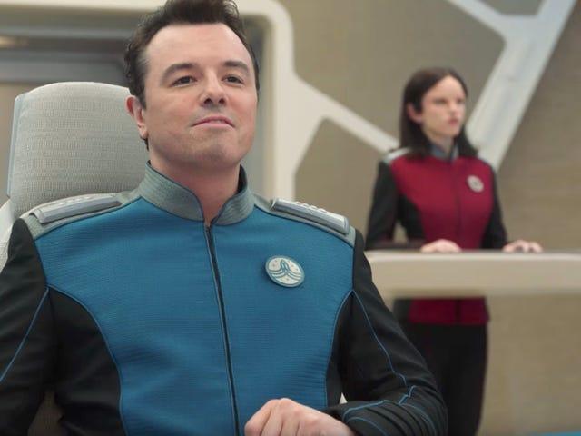 El primer trailer de <i>Star Trek</i> Seth MacFarlane Spoof <i>The Orville</i> ve perfecto