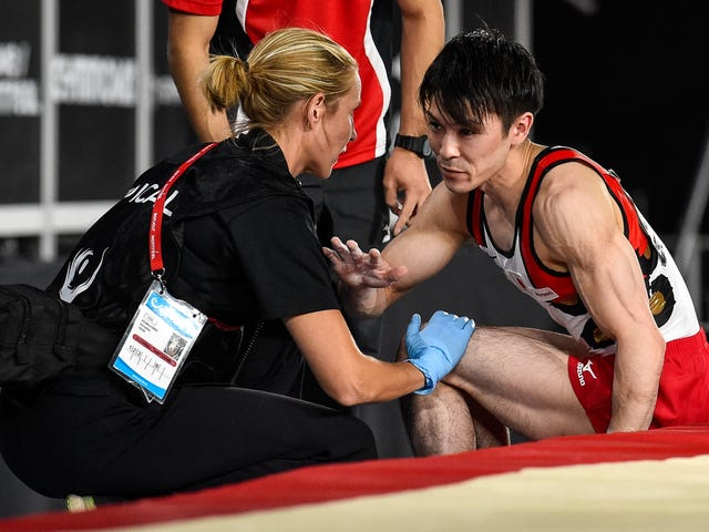 Kohei Uchimura's World Championship Streak Snapped By Ankle Injury