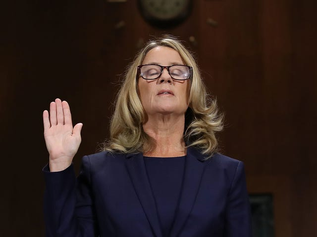 Christine Blasey Ford Still Hasn't Been Able to Return Home, Continues to Receive 'Unending' Death Threats