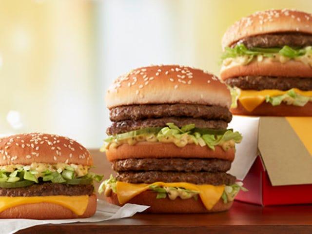 McDonald's tries super-sizing the Big Mac again