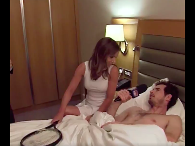 BBC Makes Shirtless Andy Murray And Geri Halliwell Sing Spice Girls Songs In Bed
