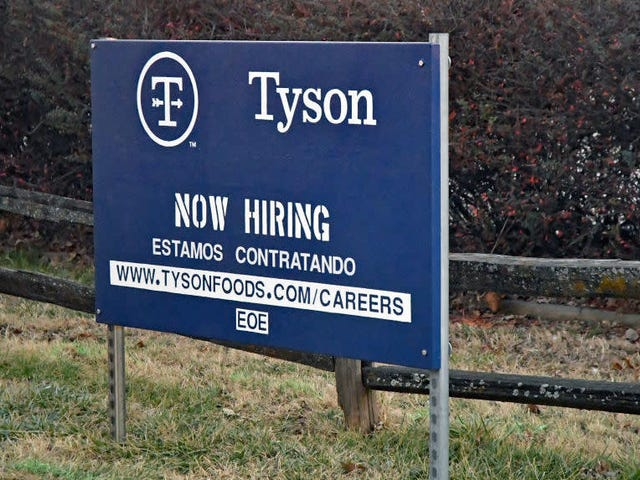 Tyson Foods reinstates its punitive sick leave policy