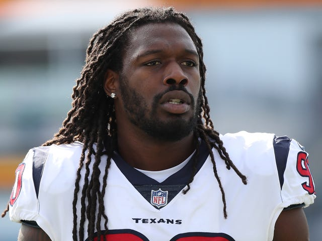 Jadeveon Clowney à Seattle dans le commerce