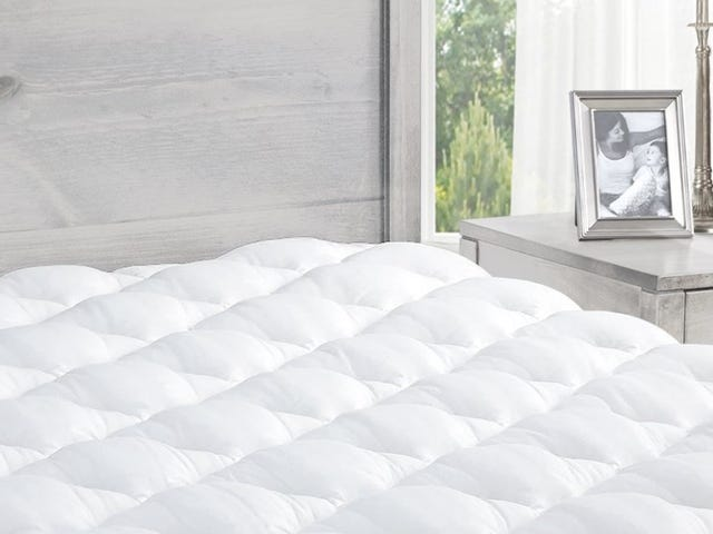 Upgrade Your Bed with a Marriott Mattress Pad, On Sale Today Only