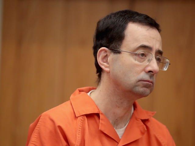 El Departamento de Justicia está investigando cómo el FBI jodió su investigación de Larry Nassar