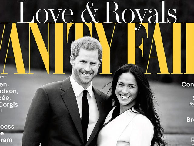 Vanity Fair Gonna Vanity Fair: It's the Royal Wedding Issue!