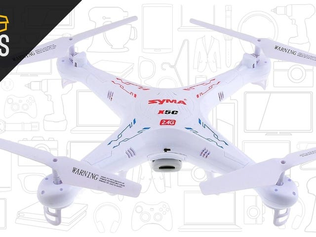 Earn Your Wings With This $39 Camera-Equipped Drone, Today Only From Amazon