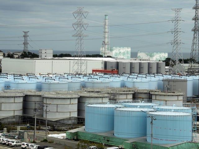 日本环境大臣预测,福岛的放射性水必须倒入海洋
