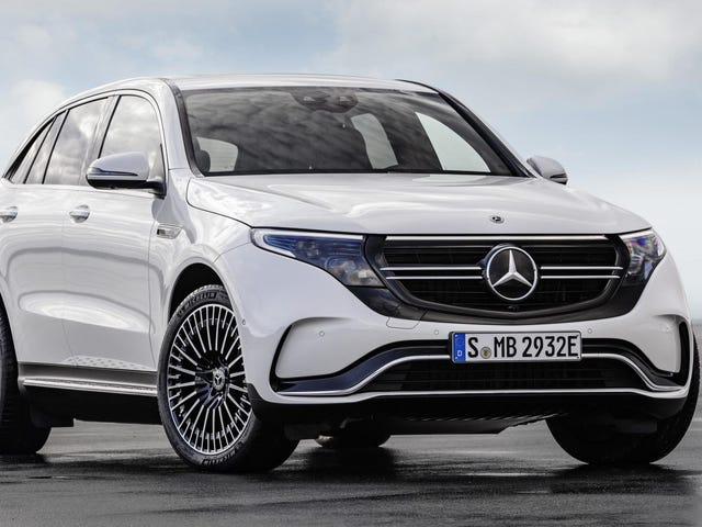 The 2020 Mercedes-Benz EQC's 200-Mile Range Is A Disappointment