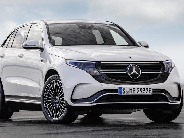 El alcance de 200 millas del Mercedes-Benz EQC 2020 es una decepción