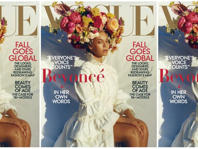 She Ain't Sorry: Beyoncé Gets Revealing and Reflective for Vogue's September Issue