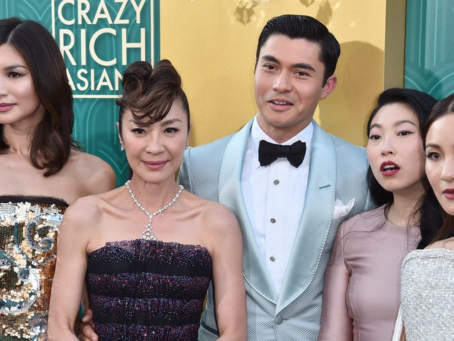 Sta mij toe om de allerbeste looks van de Crazy Rich Asians première te introduceren