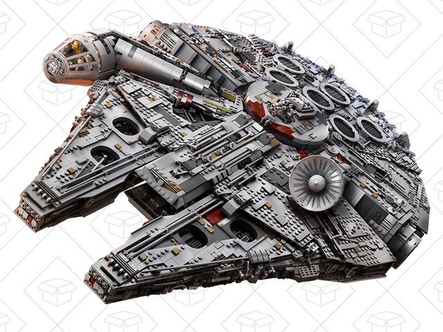 Power Up Your Hyperdrive and Save $200 On LEGO's 7,500+ Piece Millennium Falcon, While You Still Can