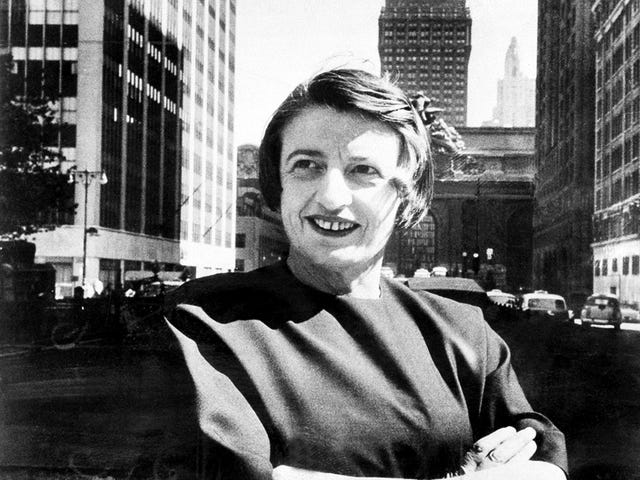 Ayn Rand personally profited from FDR's New Deal