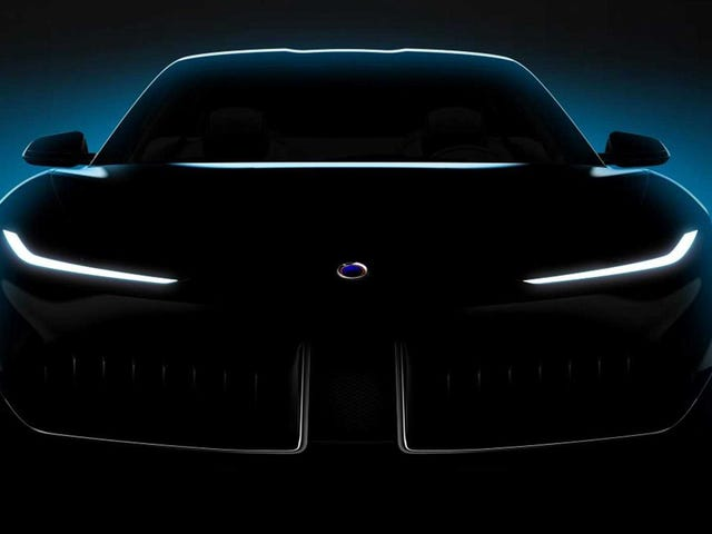 Karma Automotive Keeps Trying With a New Electric Designed by Pininfarina