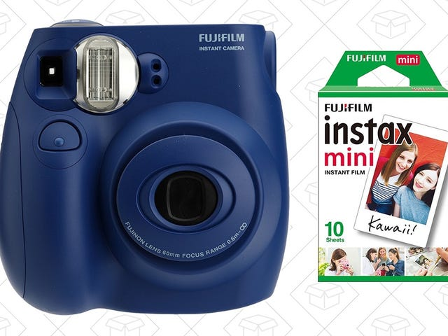 Technology Is Cyclical! Save Big on an Instant Film Camera, Today Only.