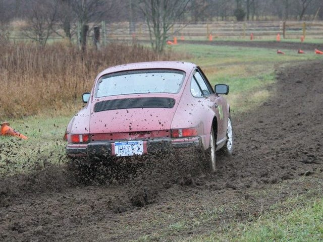 You may be surprised to hear that a Porsche 911 is extremely good at racing off road, even a sloppy muddy field in Eastern…