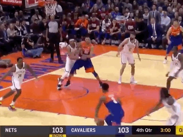 Someone Finally Posterized Jarrett Allen, And It Was Marquese Chriss