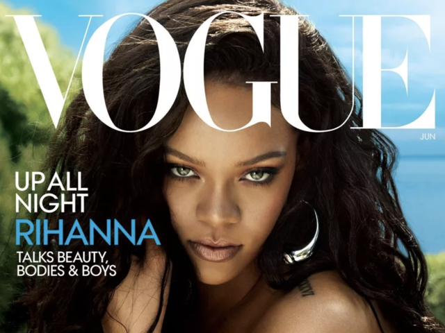 Rihanna Rules the World on June Cover of Vogue