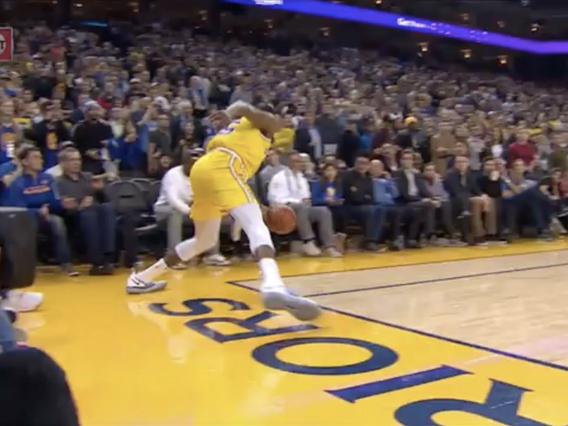 Warriors Get Go-Ahead Overtime Bucket After Just An Incredible Blown Call