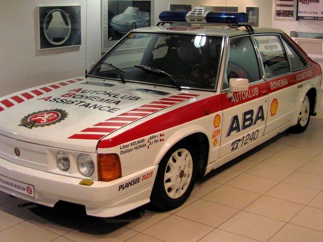 Den virkelige vinneren av den ungarske Grand Prix fra 1986 var Tatra T-623-R