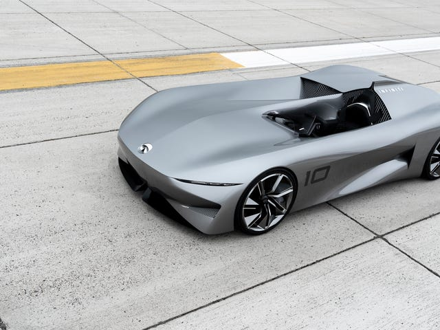 The Infiniti Prototype 10 Would Be the Perfect Car for Misanthropes Like Me
