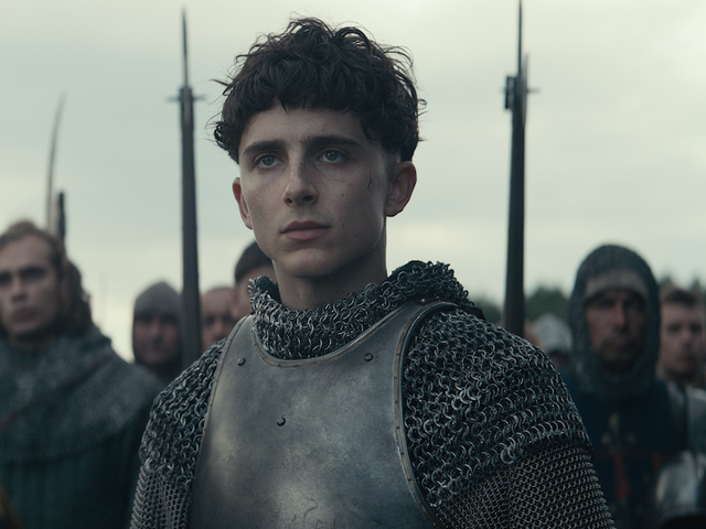 Timothée Chalamet doesn't want to be The King—and who would, in a kingdom this dull?