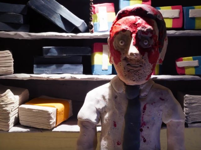 These Belko Experiment Claymation Shorts Are Disgusting in the Best Possible Way