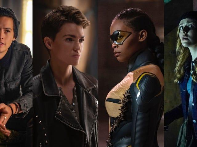 I princip förnyades varje CW-show bara för en annan säsong