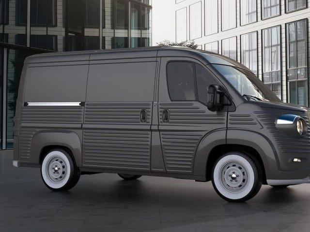 Someone Should Be Making Ram Promasters Into These H-Van Replicas