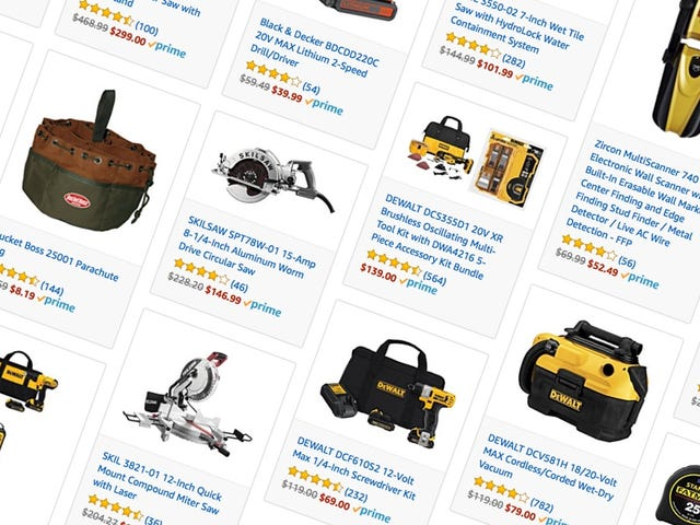 Feed Your DIY Habit With a Ton of One-Day Tool Deals From Amazon
