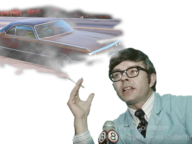 This Is What A Smoking 1970s Scientist Thinks What You Drive Says About You