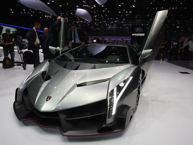 Lamborghini 100-årsdag overraskelse er basert på Aventador og vil ikke være en hybrid