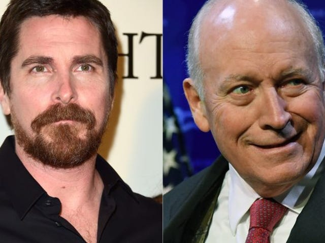 Christian Bale Bleached His Eyebrows, Gained Weight to Play Dick Cheney
