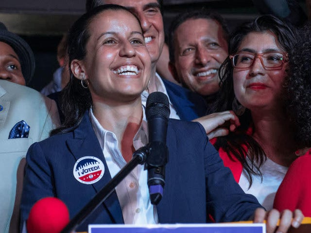 NYC District Attorney Candidate Backed by Alexandria Ocasio-Cortez Claims Democratic Primary Victory