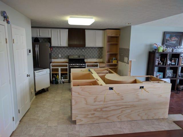 Кухня Рено - Моя работа здесь выполнена