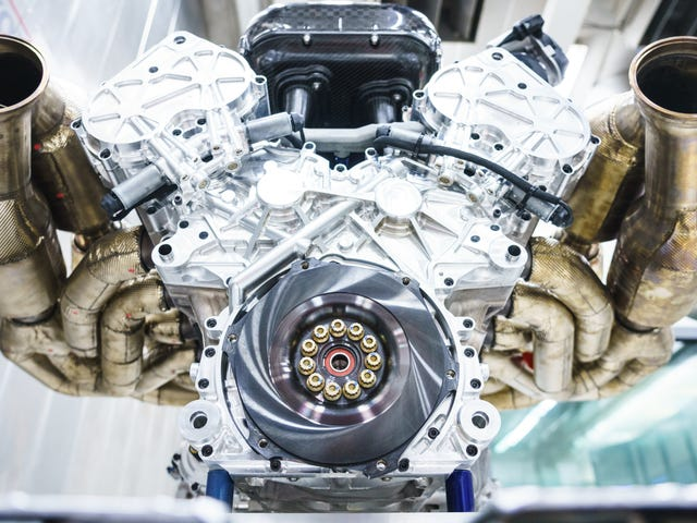 Here's a Close Look at theAston Martin Valkyrie's 11,100 RPM V12 Powerhouse